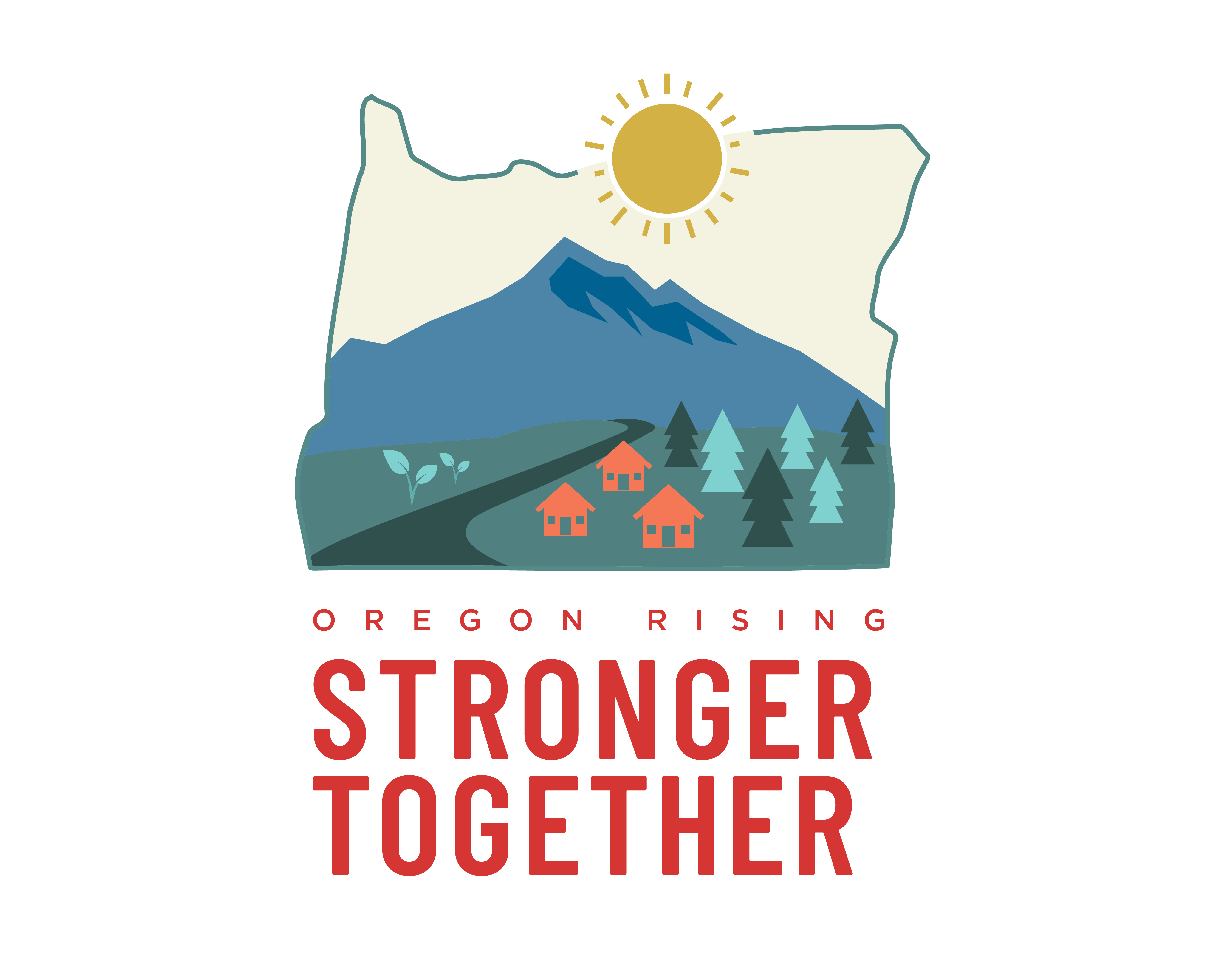 Oregon Wildfire logo